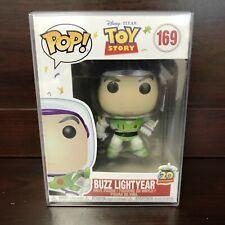 "Funko POP Disney Toy Story : Buzz Light Year #169 Vinyl Figure w/Case ""MINT"""