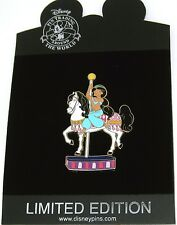 New Rare Le 125 Disney Pin✿Aladdin Princess Jasmine Carousel Horse Jim Shore Art