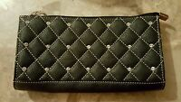 Black Leather Wallet RUSTIC COUTURES **NWOT **