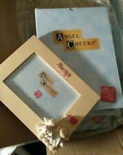 Angel Cheeks picture frame ALWAYS Hand-Painted Russ  holds 4X6 photo NIB