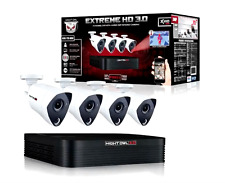 Night Owl 8 Channel 3MP Extreme HD 4 Camera Video Security System DVR XHD