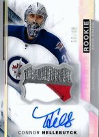 2015-16-U.D. PREMIER ROOKIE CONNOR HELLEBUYCK  R.C. AUTO  PATCH #/65  !! LOOK!!