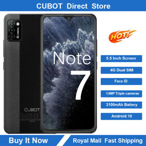 """CUBOT Note 7 5.5"""" 2GB 16GB Smartphone 4G Mobile Phone Android Dual SIM Face ID"""