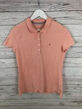 TOMMY HILFIGER Polo Shirt - Medium - Pink - Great Condition - Women's