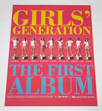 SNSD Girls' Generation - Vol. 1 (Korea First Album) OFFICIAL POSTER