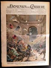 La Domenica del Corriere 14 agosto 1932 Milano Londra Camicie Nere