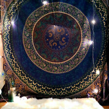 Boho Indian Mandala Tapestry Hippie Wall Hanging Bedspread Mat Room Home Decor