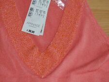 Damen Apanage/ ESCADA Sommer edel Long Top  bluse D40-42 L Shirt Neu 89,-€