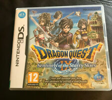 Dragon Quest IX Sentinels of the Starry Skies Nintendo DS Good Condition