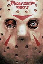 FRIDAY THE 13TH PART 3 limited edition print #125 HANS WOODY 2018 24x36