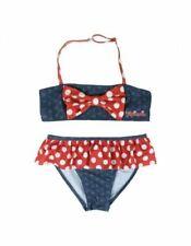 Maillots de bain bikini bleus pour fille de 2 à 16 ans