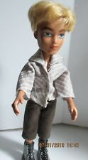 BOY BRATZ DOLL blonde hair with shorts shirt and shoes