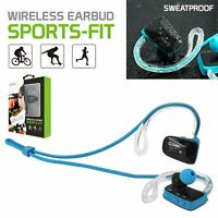 Wireless Headphones Bluetooth Headset - Apple iPhone Samsung Galaxy LG - BLUE.