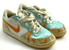 Nike Air Zoom Dunk SB Skateboard Womens Size 8.5 Orange Aqua Shoes 311891