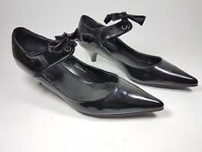 aa83f89ec32 Carvela Kurt Geiger Bunty black patent leather mid heel shoes uk 5 eu 38