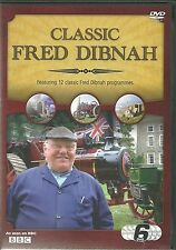 CLASSIC FRED DIBNAH FEATURING 12 CLASSIC PROGRAMMES AS SEEN ON BBC 6 DVD BOX SET
