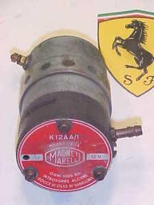 Ferrari Air Horn Magneti Marelli Compressor_195_212_250_Maserati_OEM