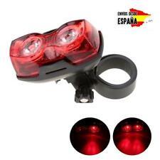 LED luz de seguridad para bicicleta sillín trasera señalización