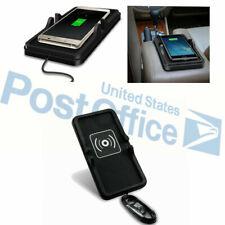 Non-Slip Pad QI Wireless Charging Fast USB Car SUV Dashboard Holder for Samsung#