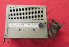 Alliance Casca-Matic Booster - Model Bb-2 Untested - 1950's Era? Used