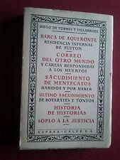 RARO-DIEGO DE TORRES Y VILLARROEL-BARCA DE AQUERONTE-ESPASA CALPE-1969