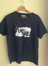 "Black Caterpillar Top 100 % Cotton Pit To Pit - 20.5"" <M1193"