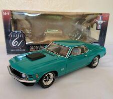 Highway 61 1:18 1970 Ford Mustang Boss 429- Grabber Green
