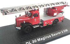 DL 30 Magirus Saurer 2 DM Camión bomberos fire truck 1/72 ATLAS Diecast