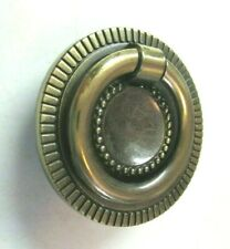 Lots of 10 Amerock Vintage Brass Fixed-Ring Style Drawer Pull