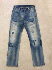 Levis Vintage Clothing 1933 501XX Jeans Construction Selvedge 28x34