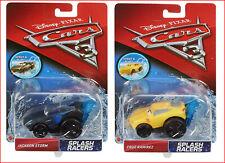 LOT 2 - Disney Cars SPLASH Racers Cars - Jackson Storm + Cruz Ramirez
