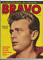 BRAVO Nr.21 vom 19.5.1959 Nadja Tiller, Wera Frydtberg, James Dean, Bing Crosby