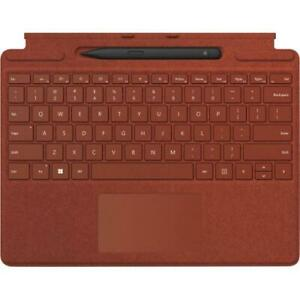 Microsoft Surface Pro Signature Keyboard Poppy Red with Surface Slim Pen 2 Black