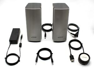 Bose Companion 20 Multimedia Speaker System Silver Used
