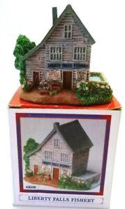 Liberty Falls Fishery #AH268 Americana Collection, Christmas Diorama Miniatures