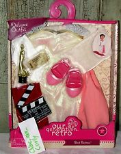 """Our Generation BEST ACTRESS Formal Dress w Award Clothes outfit 18"""" Girl Doll"""