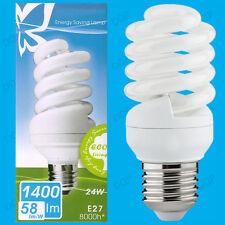 2x 24W Luce del giorno TRISTE CFL a risparmio energetico 6500K Luce Bianca