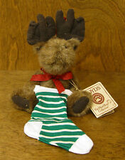 Boyds Ornament(s) #562456 Mooselsox, New/Tag From Retail Store, Moose Christmas