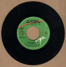"""PHILIPPINES:CULTURE CLUB - Do You Really Want To Hurt Me  7"""" 45 RPM rare"""