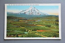 R&L Postcard: Mt Hood & River Valley Oregon