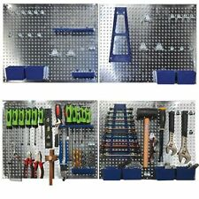 Sealey s01102 34pc METAL wall storage strumento pegboard titolare con Ganci e scatole