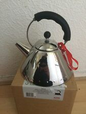 ALESSI Michael Graves Stovetop Induction Kettle, BLACK - 9093B