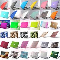 "3in1 Silk Marble Quicksand Matt Hard Case Cover For MacBook Pro 15"" Retina A1398"