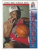 1994-95 UPPER DECK BASKETBALL HE'S BACK REPRINTS MICHAEL JORDAN #204 - 1993-94