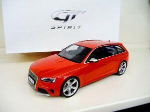 1:18 GT Spirit Audi RS4 Avant Rot GT016A NEU NEW