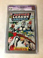 Justice League of America #15 CGC 9.4 NM slight WONDER WOMAN flash ATOM 1962