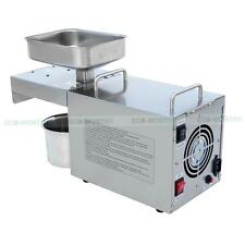 220V Commercial Auto Nut Seed Oil Expeller Oil Press For Oil Production Seasame