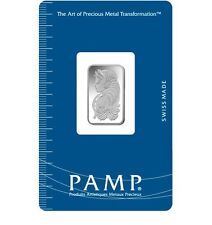 5 Gram Silver Bar - Pamp Suisse Fortuna (New w/Assay)
