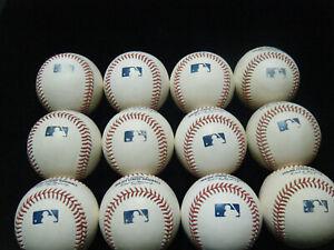 1 dozen (12) Rawlings MLB Baseballs white clean sweetspots Costa Rica FREE SHIP