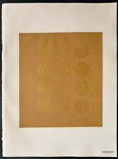 1926 - Lithographie Armes de familles nobles. Armoiries japonaises